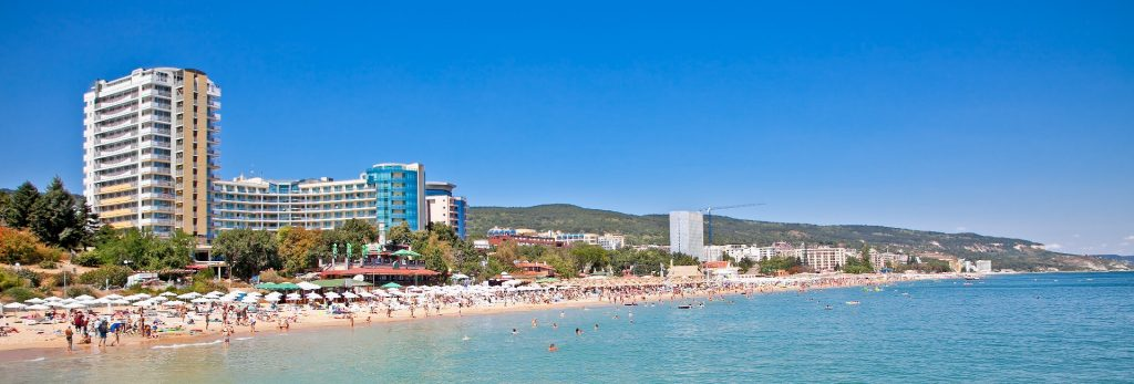 Plaża w bułgarskim kurorcie Warna